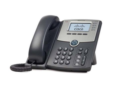 Cisco SPA 504G: SIP-Telefon mit Display 4 Line IP Telefon mit PoE und 2xLAN, 4xSIP
