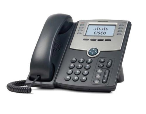 Cisco SPA 508G: SIP-Telefon mit Display 8 Line IP Telefon mit PoE und 2xLAN, 4xSIP