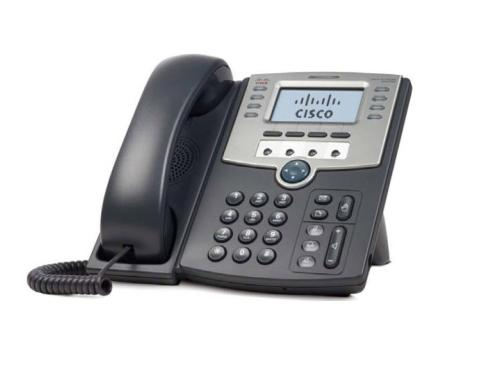 Cisco SPA 509G: SIP-Telefon mit Display 12 Line IP-Telefon mit PoE und 2xLAN, 4xSIP