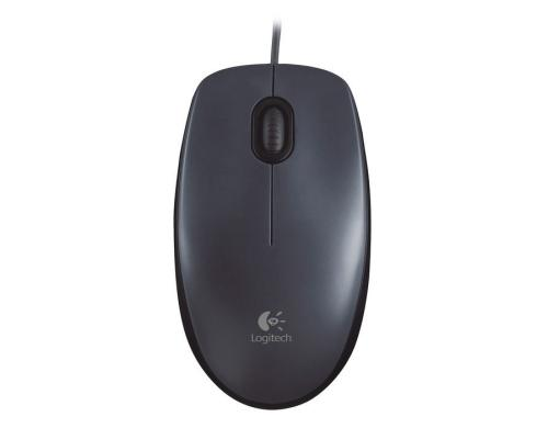Logitech M90 Optical Mouse 3 Botton, Scrollrad, USB