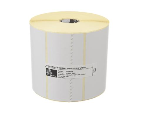 Zebra Etikette Thermo Direkt, 102x76mm 1 Rolle, Z-select 2000D