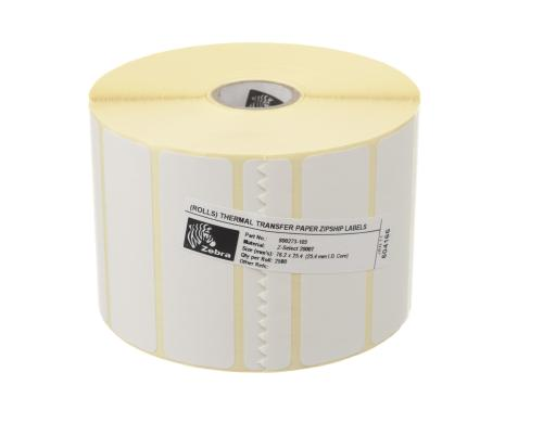 Zebra Etikette Thermo Transfer, 76x25mm 1x Rolle, Z-select 2000T