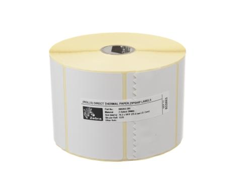 Zebra Etikette Thermo Direkt, 76x51mm 1 Rolle, Z-select 2000D