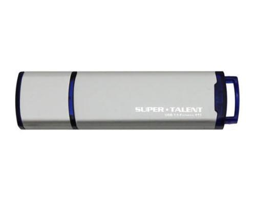 Super Talent USB3.0 Express ST2 32GB silber, Transferrate: 67MB/s via USB 3.0
