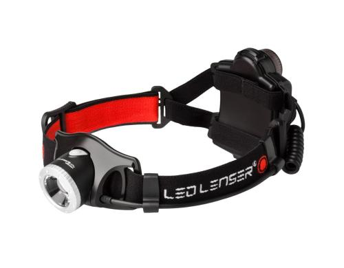 LED LENSER Stirnlampe H7.2, dimmbar 250 lm, bis 60h, 165g, 4x AAA Batterie