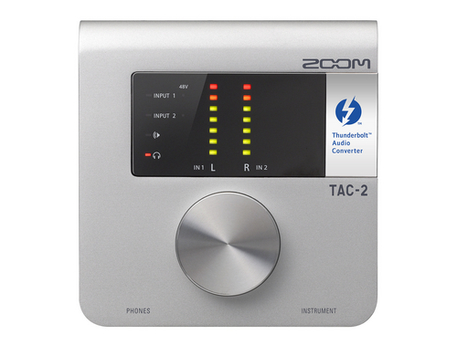 Zoom TAC-2 Thunderbolt Audiointerface, 2IN x 2OUT