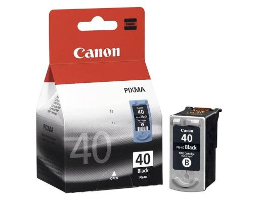 Tinte Canon PG-40 schwarz Canon Pixma MP150/170/450, high field