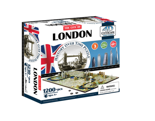 Creanorm Puzzle 4D London Alter: 6+ Teile: 1200