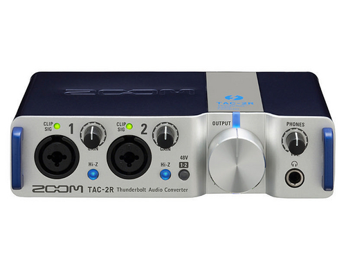 Zoom TAC-2R Thunderbolt Audiointerface, 2IN x 2OUT