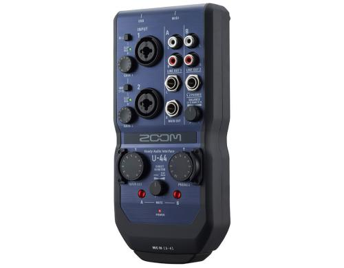 Zoom U-44 USB 2.0 Audiointerface, 4IN x 4OUT