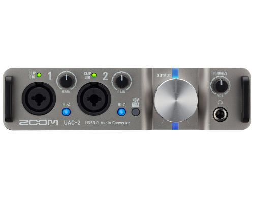 Zoom UAC-2 USB 3.0 Audiointerface, 2IN x 2OUT