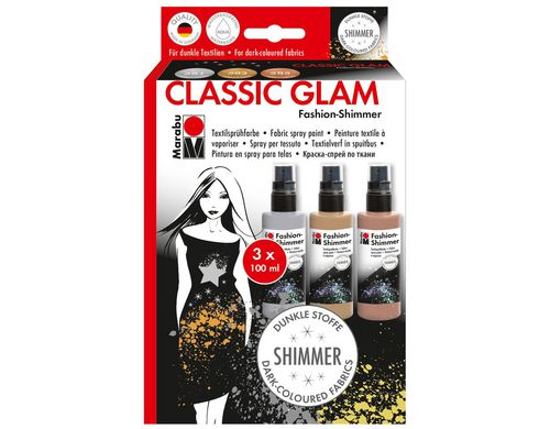 Marabu Fashion-Shimmer Spray Classic Glam