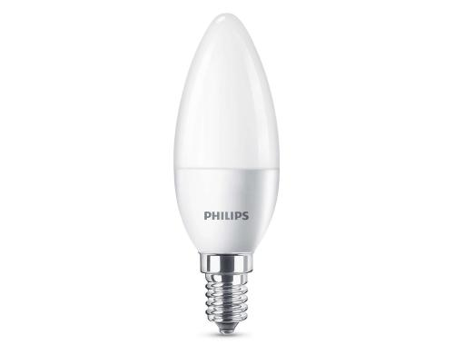 Philips LED Candle 40W B35 E14 WW FR ND 6CT/4