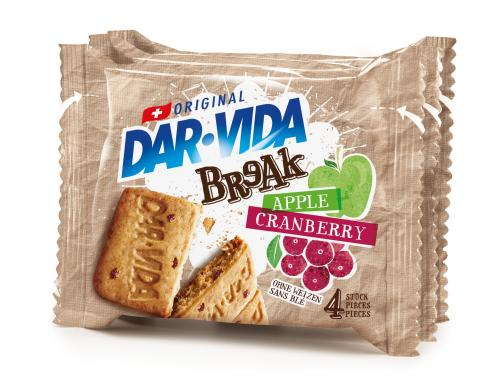 DAR-VIDA BReAk Cranberry & Apple 132g