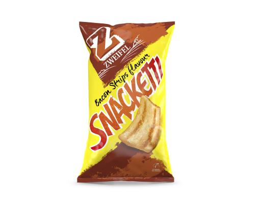 Snacketti Bacon Strips Flavour 75g