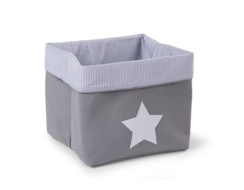 Childhome Canvas Box Grey 32x32x29cm