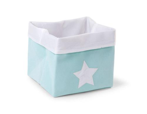 Childhome Canvas Box Mint 32x32x29cm