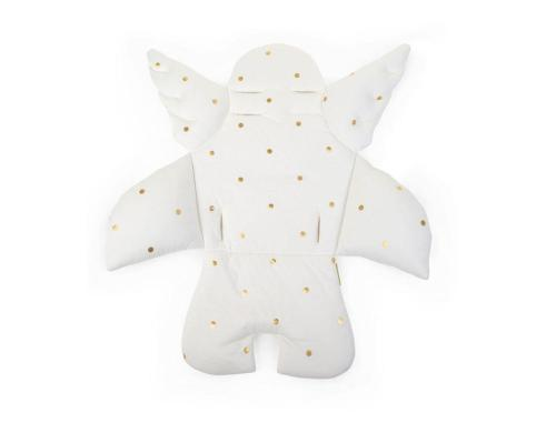 Childhome Universalkissen Angel gold dots