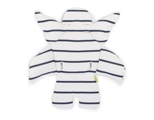 Childhome Universalkissen Angel marin stripes