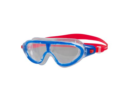 Speedo Biofuse Rift Jr. Mask lava red/beautiful blue/clear