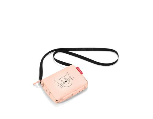 Reisenthel Kindertasche itbag kids cats and dogs rose, 0.4 l, 16 x 12 x 3 cm