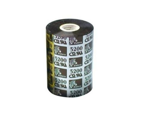 Zebra Farbband für Thermo Transfer, 131mm, Wax/Resin (3200), 25mm Core, 450m,