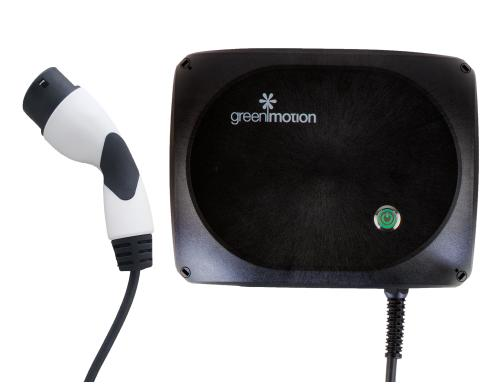 Green Motion Home Two - Typ 2 (22kW) Ladestation, Kabel