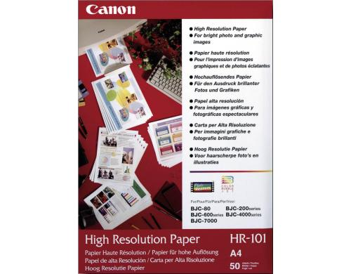 Canon High Resolution Paper A4, S 105g, 50 Blatt