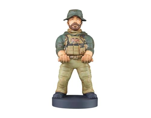 Cable Guys - CoD Captain Price 20cm Phone/Controller Holder & 3m Ladekabel